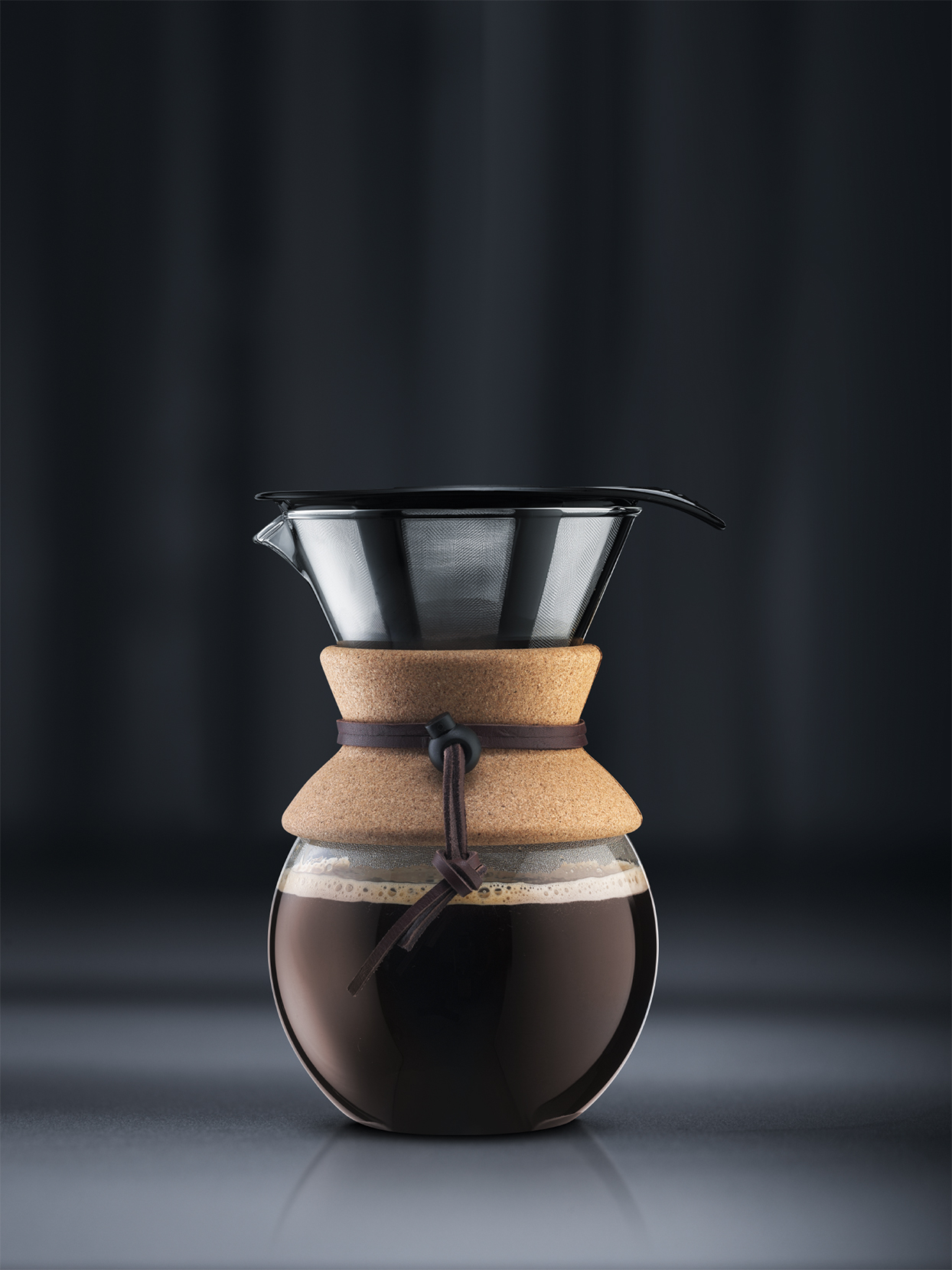 bodum pour over set with permanent filter