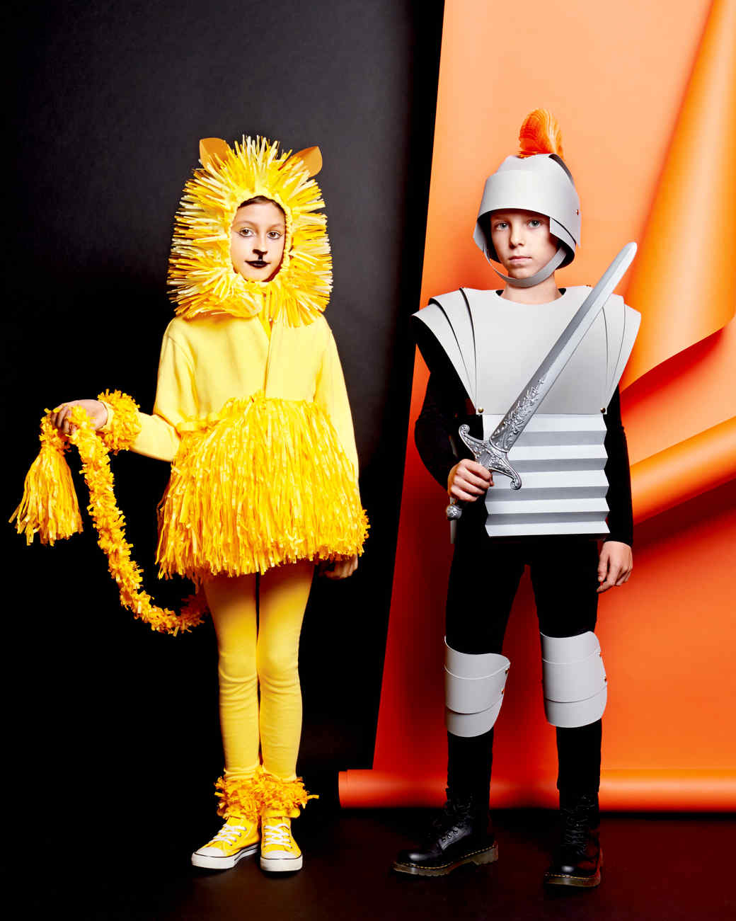 lion and gladiator halloween costumes