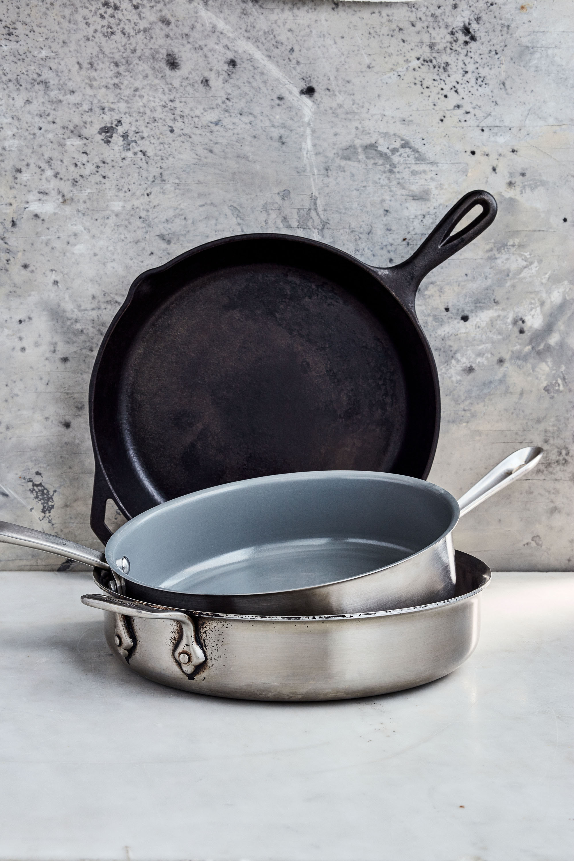 This Is Why the Test Kitchen Team Uses Straight-Sided Skillets Every Day