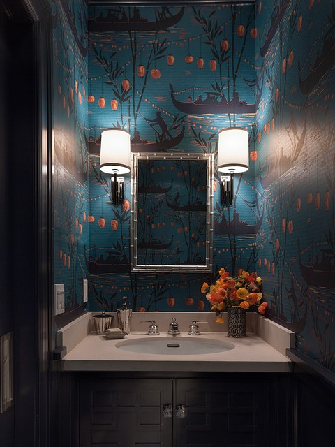 Houzz CLUE Mansion Upgrade, Bathroom