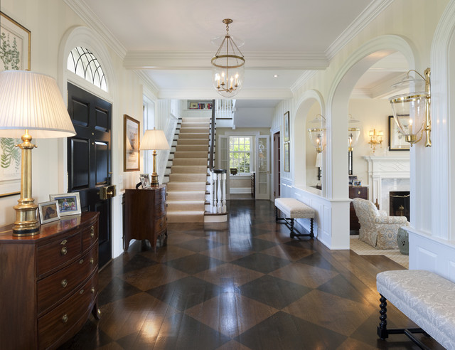 Houzz CLUE Mansion Upgrade, Foyer