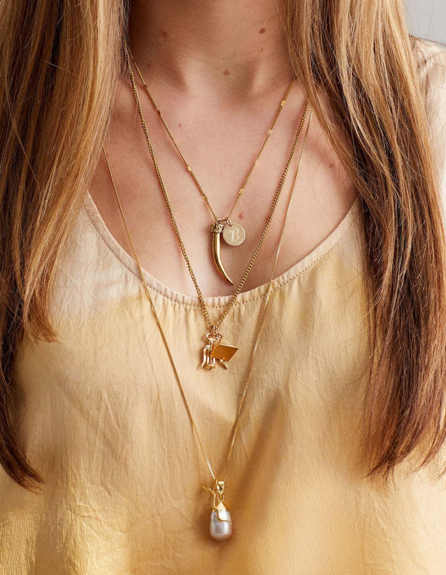 Your Guide to Layering Necklaces