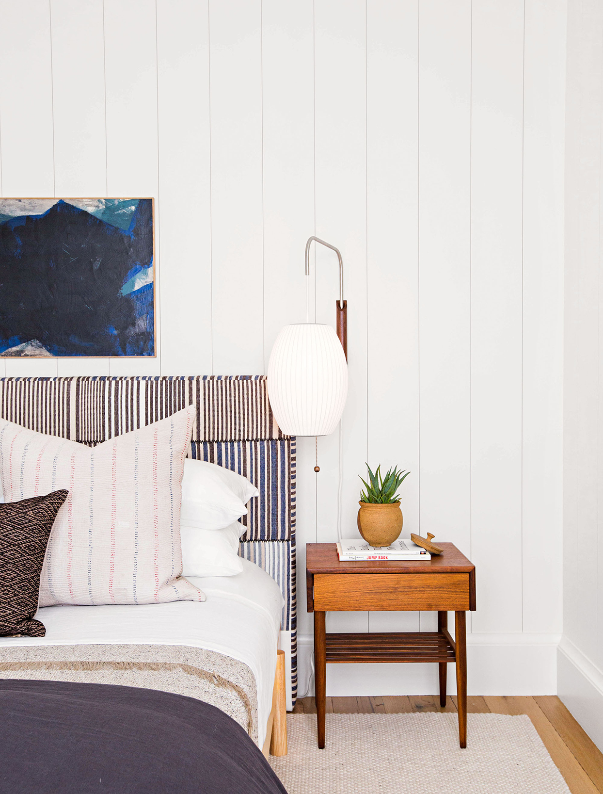 This Is the Perfect Space-Saving Bedside Light  Martha Stewart