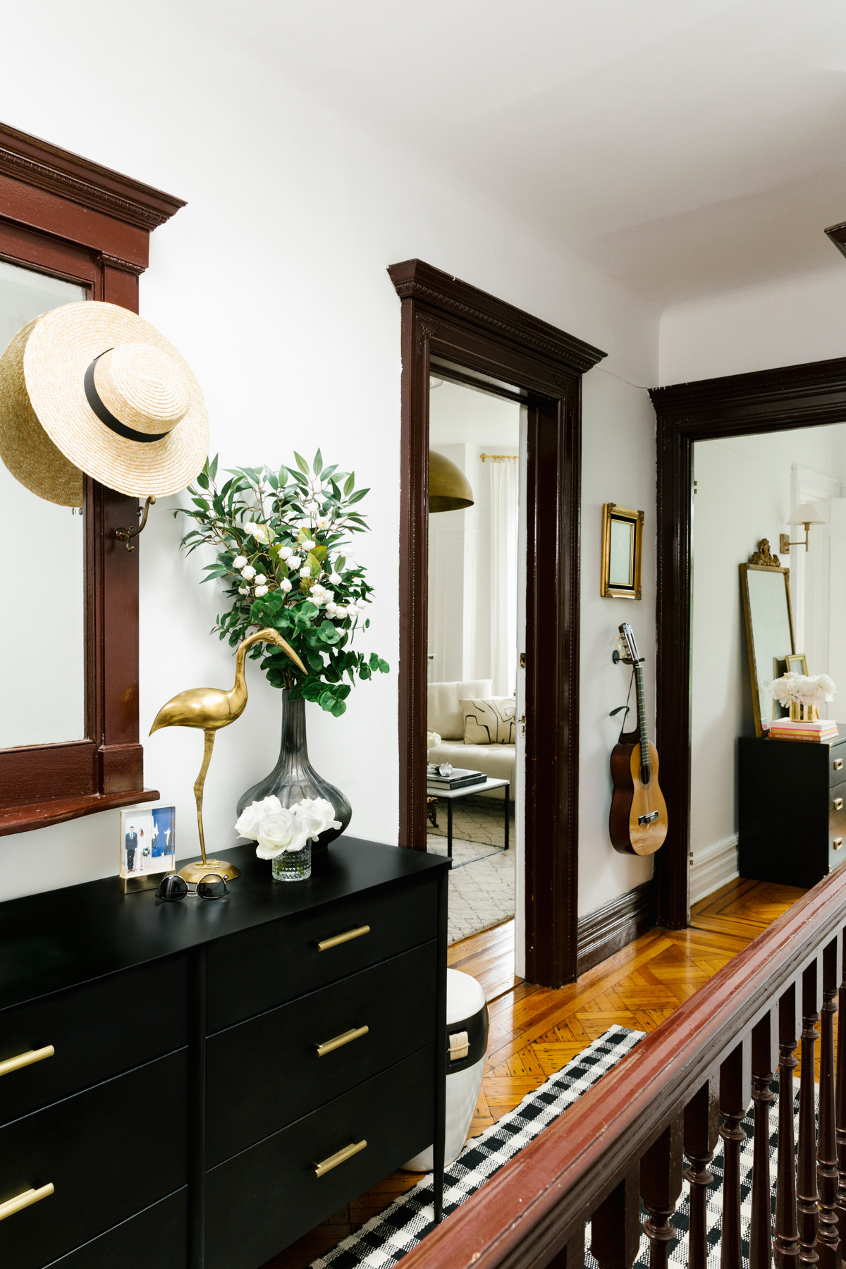 shelby nyc apartment entry hallway