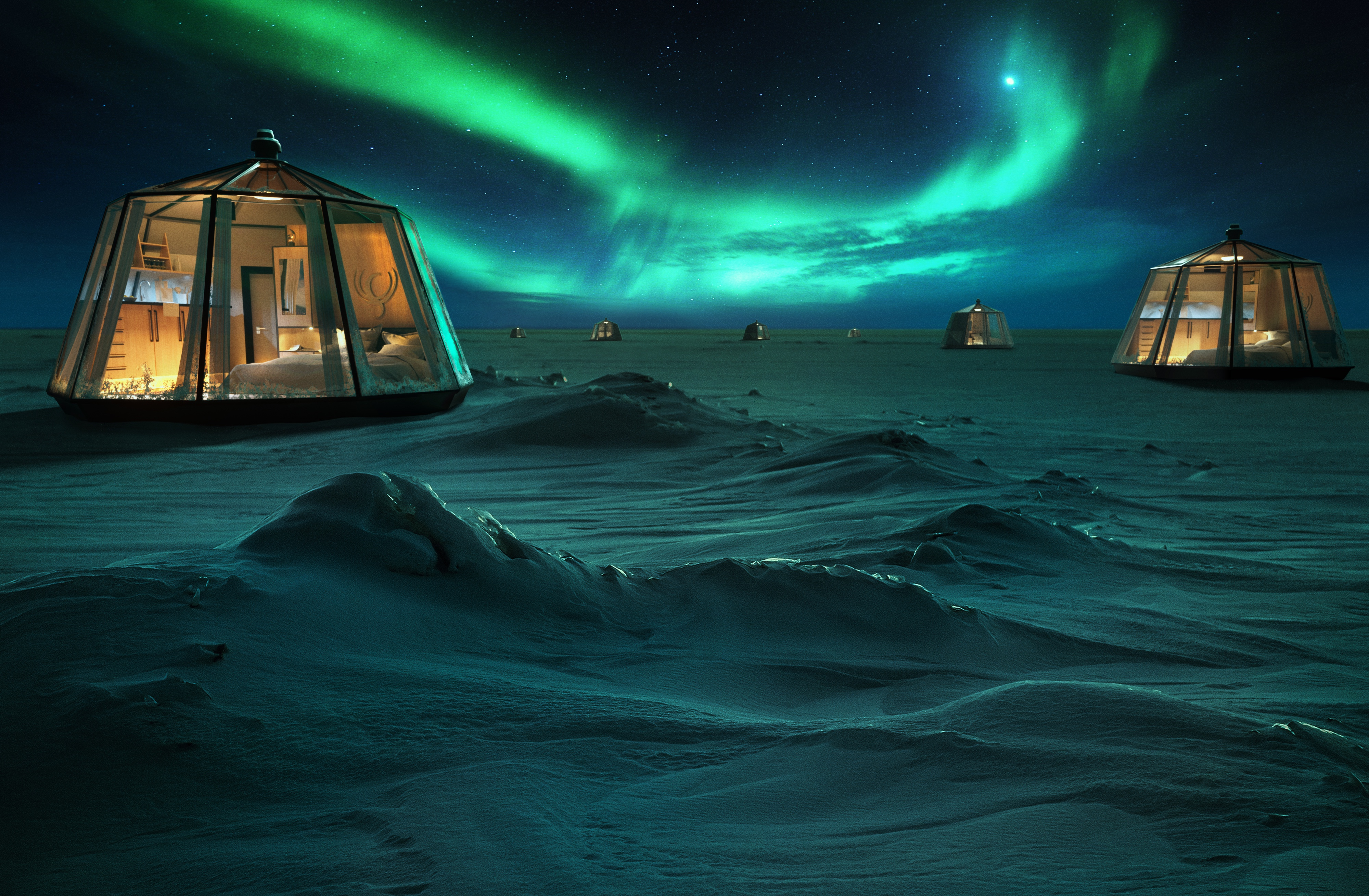 A Luxury Hotel Is Opening in the North Pole—and It Promises Breathtaking Views of the Northern Lights