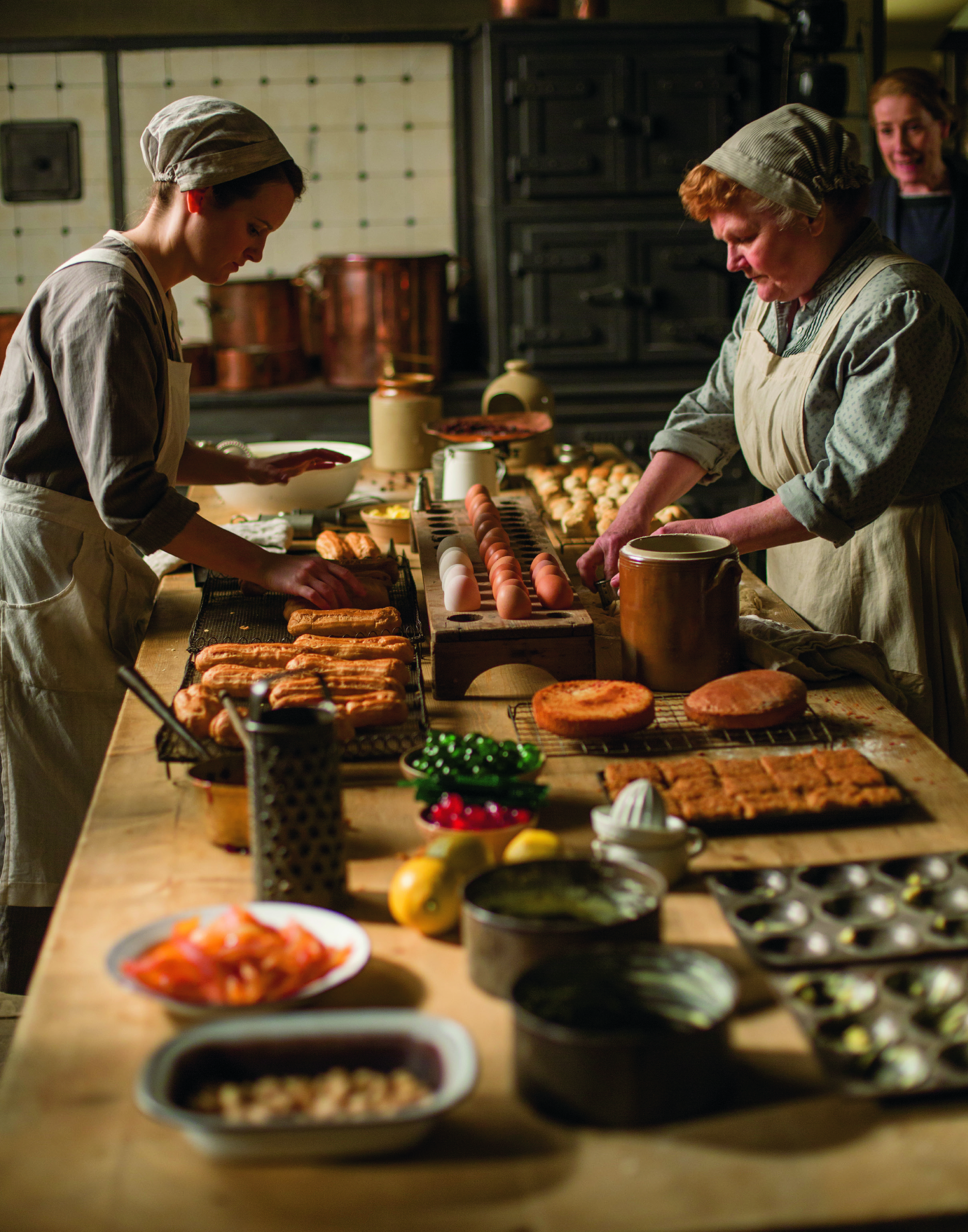 What Was It Really Like to Cook at  Downton Abbey ?
