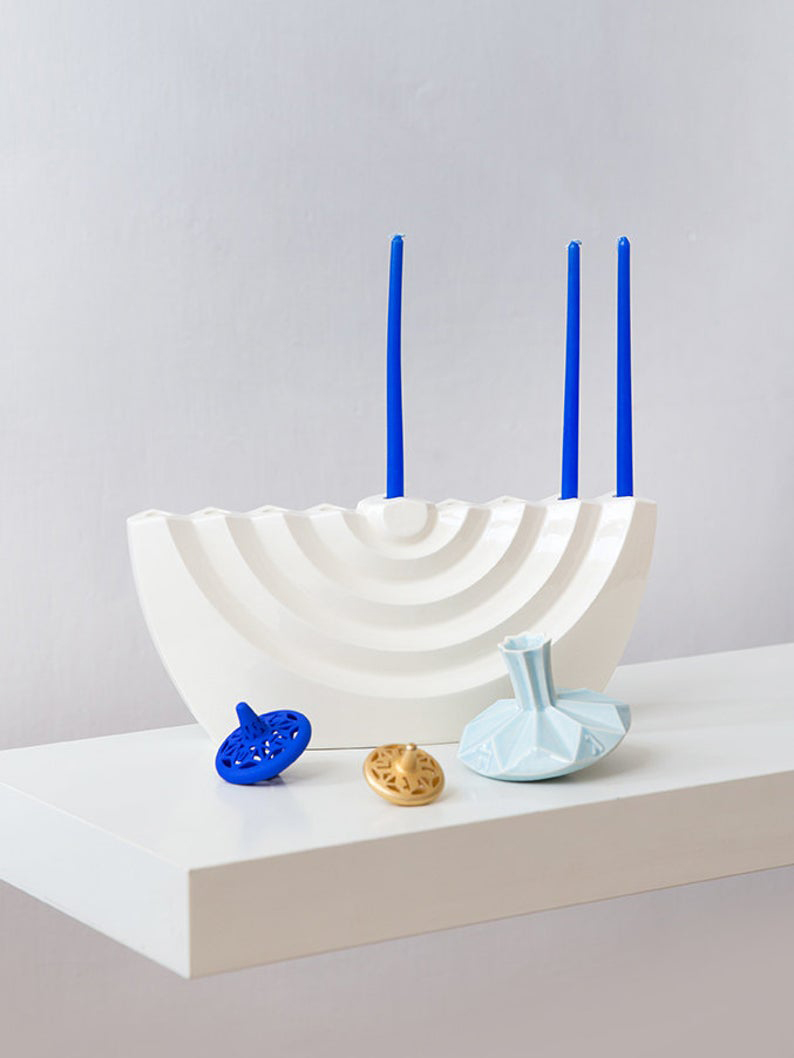 11 Modern Menorahs That Will Help Your Family Start a New Hanukkah Tradition
