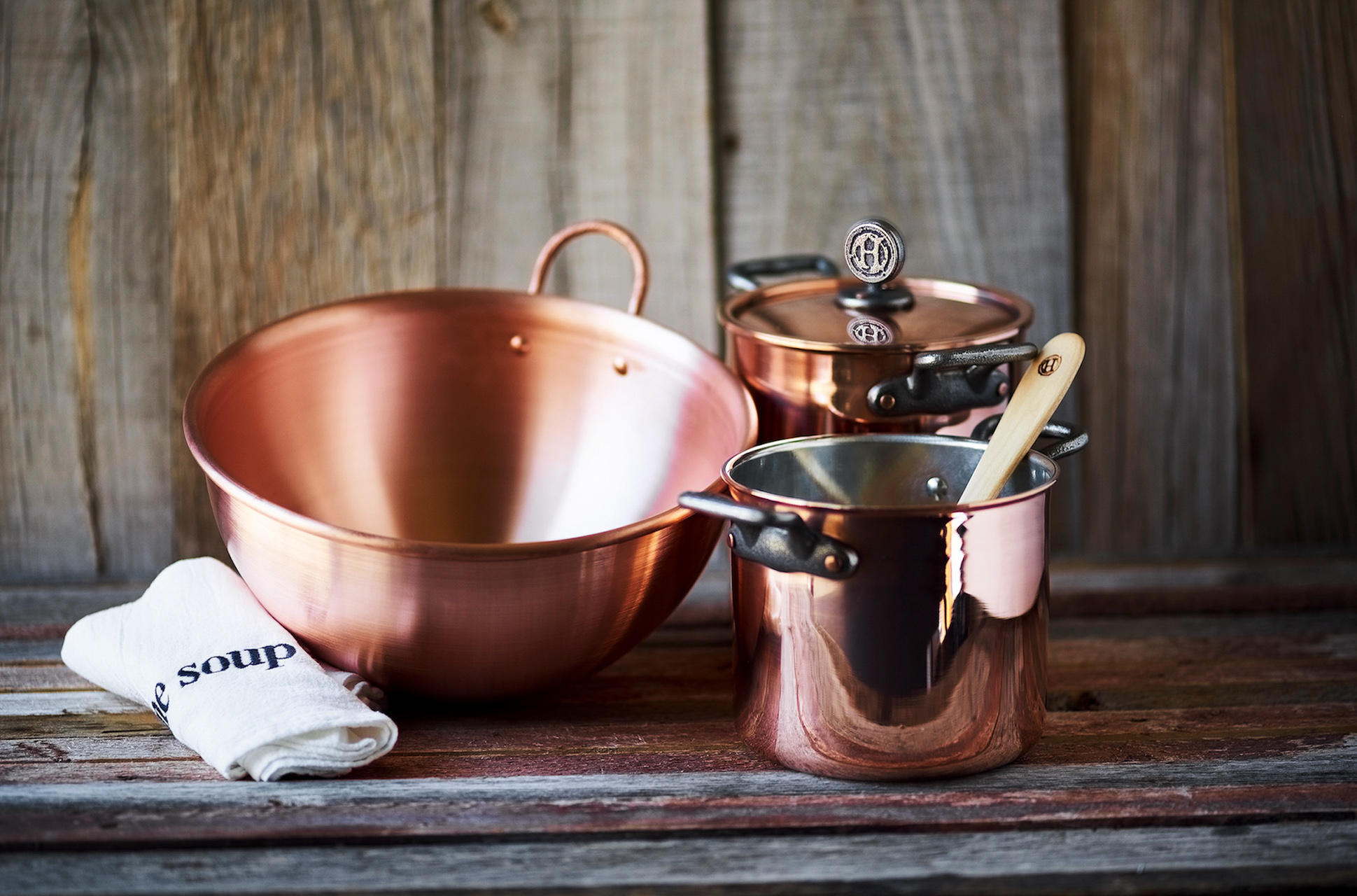 house copper cookware by sara dahmen