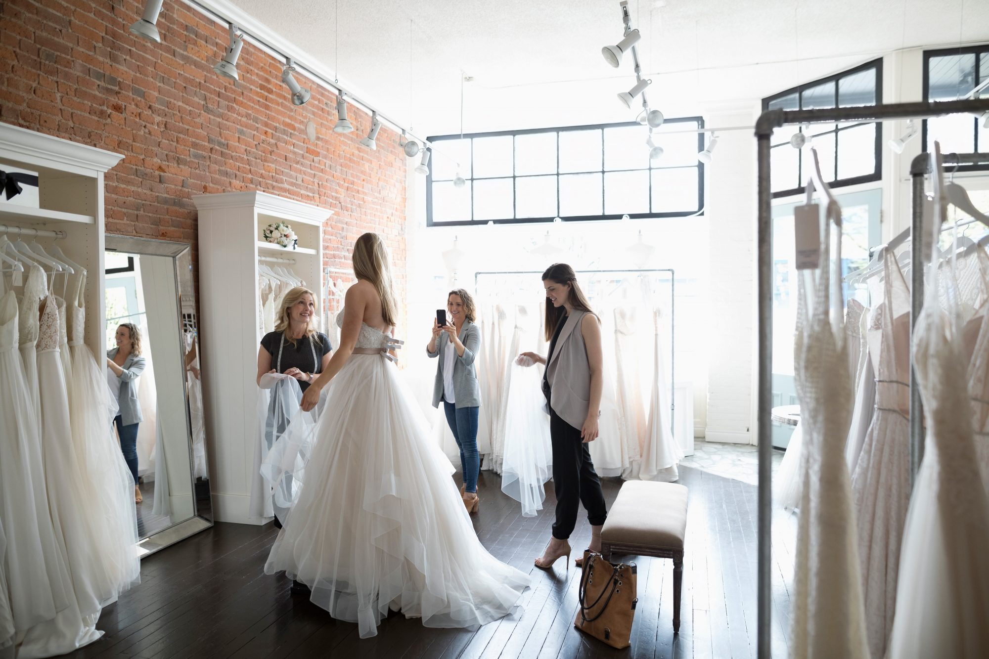 How Late Is Too Late To Start Wedding Dress Shopping Martha Stewart