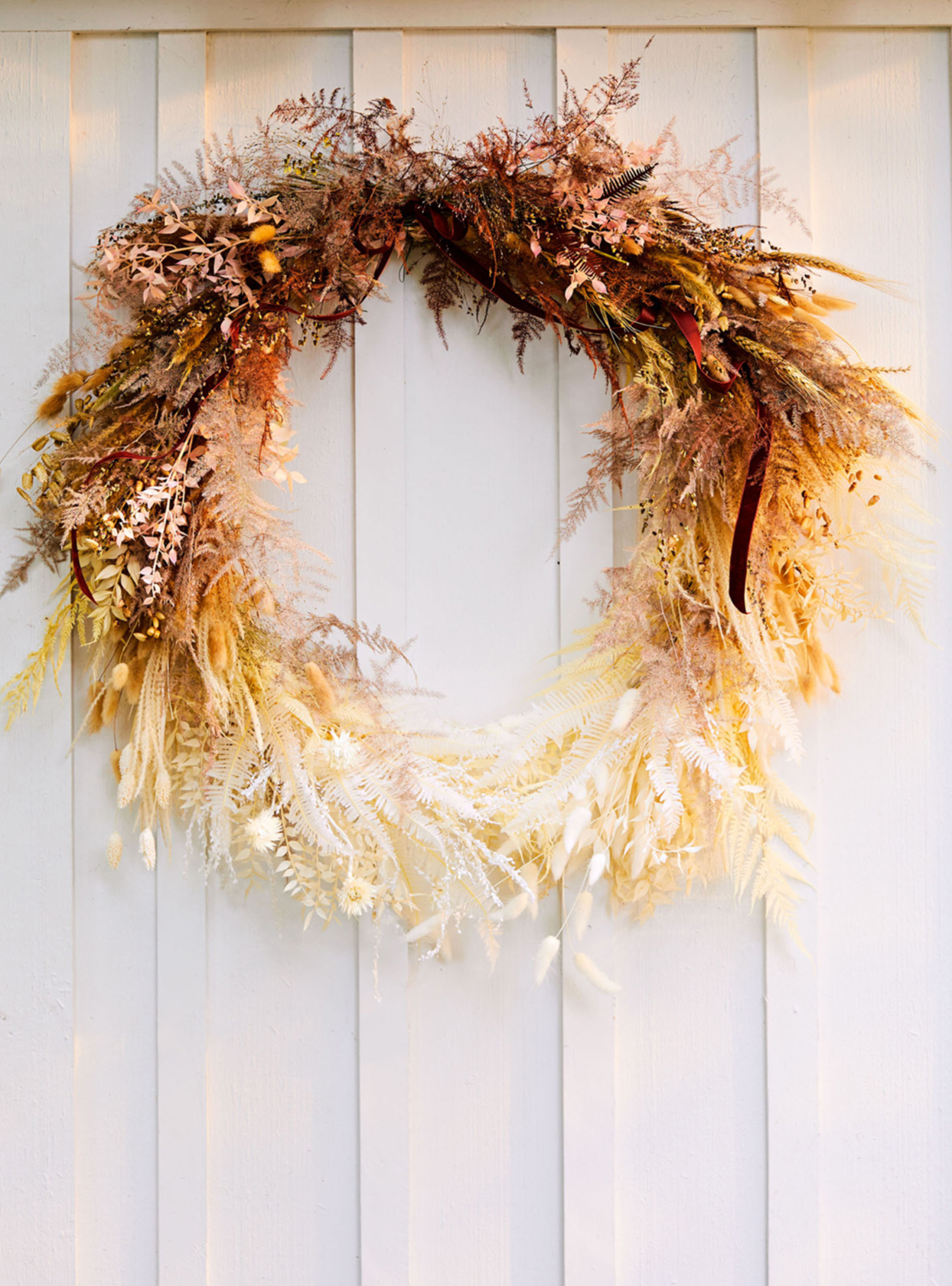 Ombré Fall Wreath