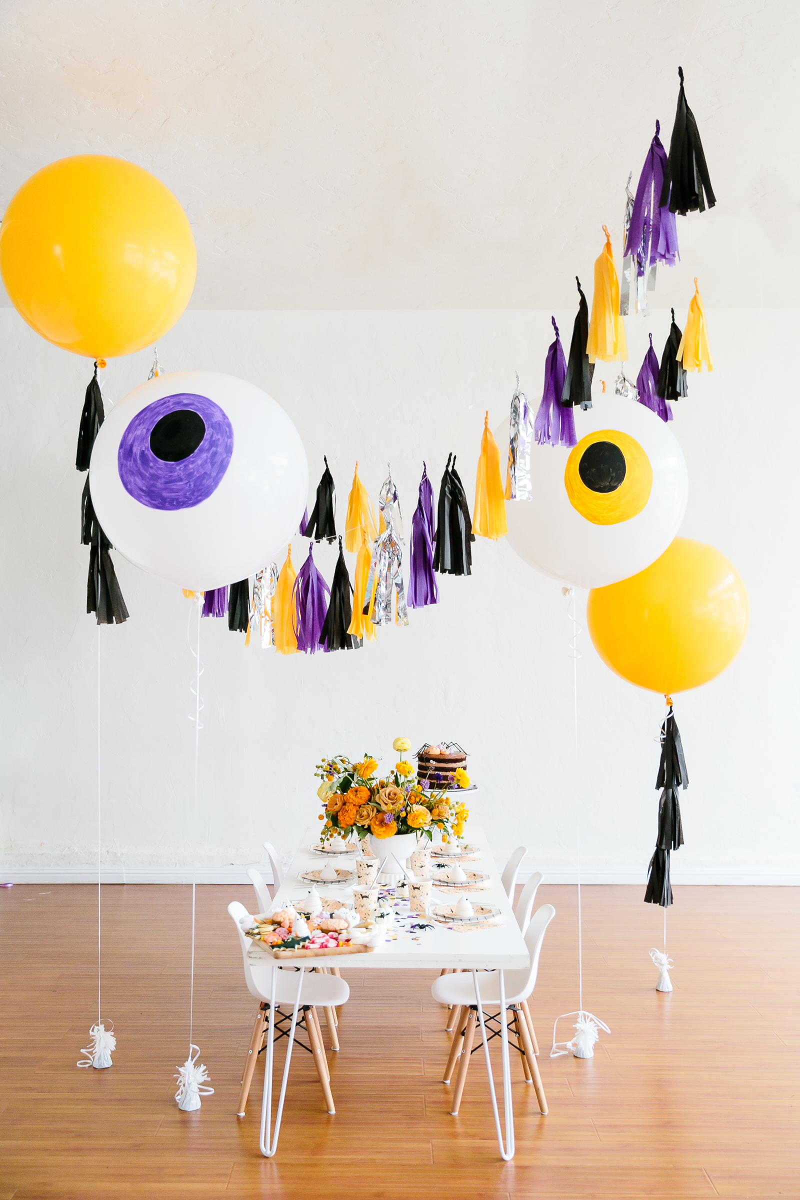 A Kid-Friendly Halloween Party That Celebrates the Sweetness of Treats and Candy