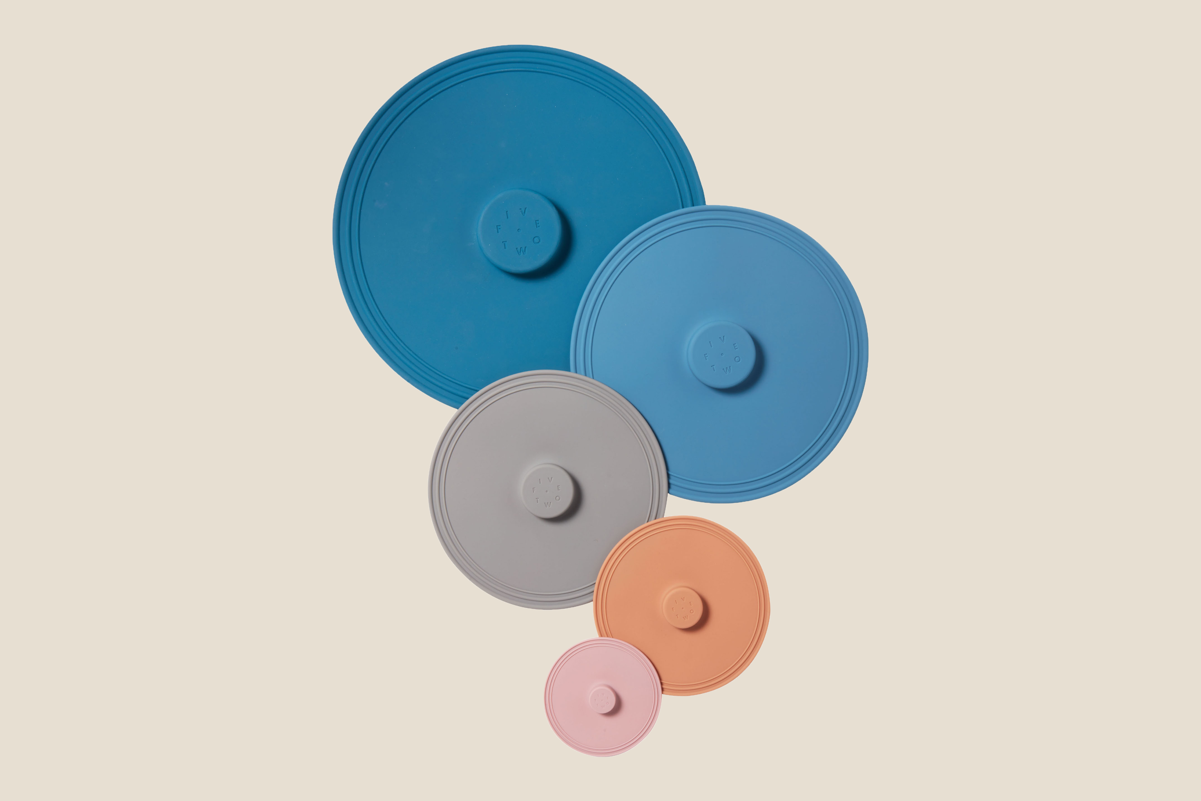 eco-friendly Food52 Five Two Airtight Silicone Lids