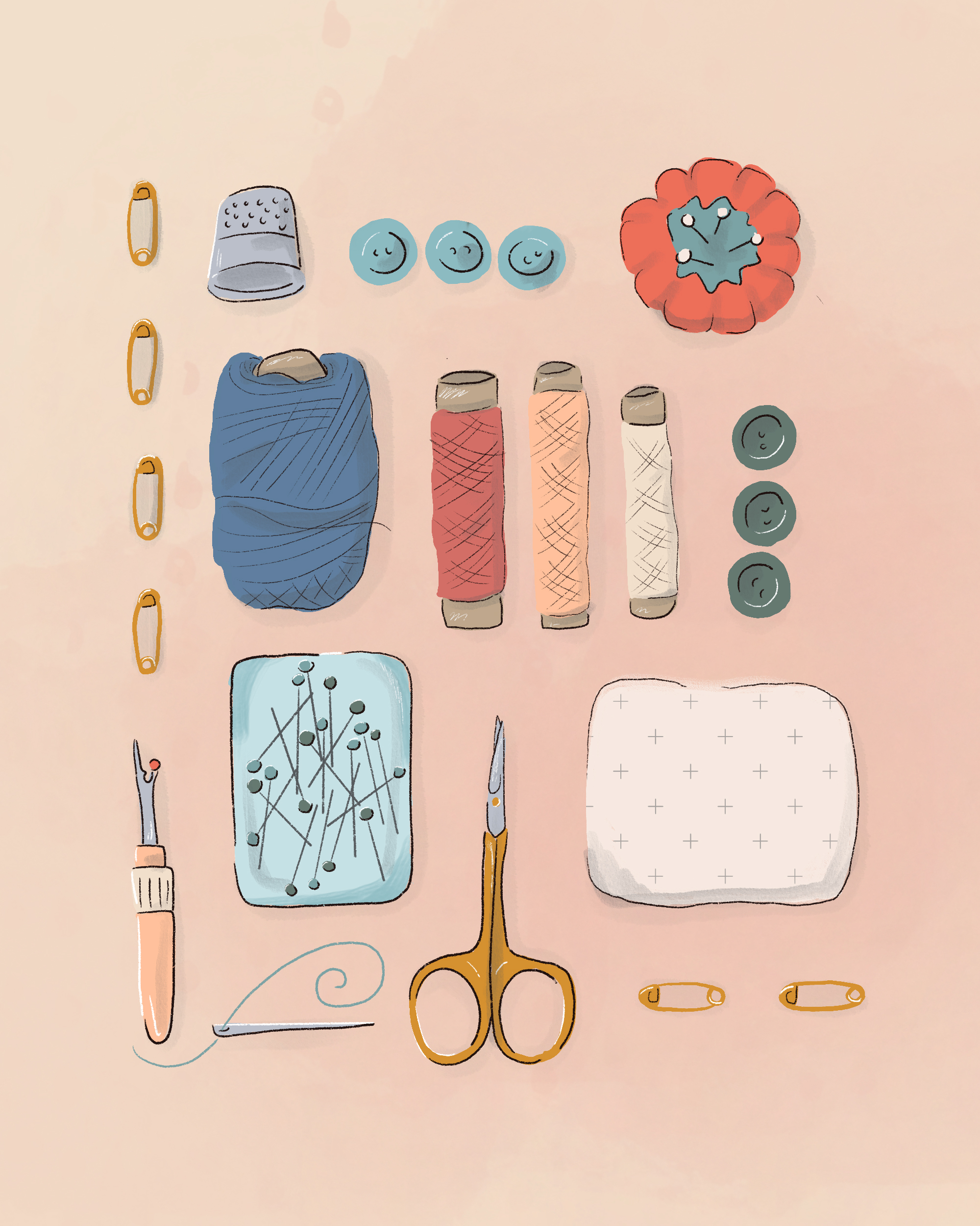 An Illustrated Guide to Sewing Stitches for Beginners