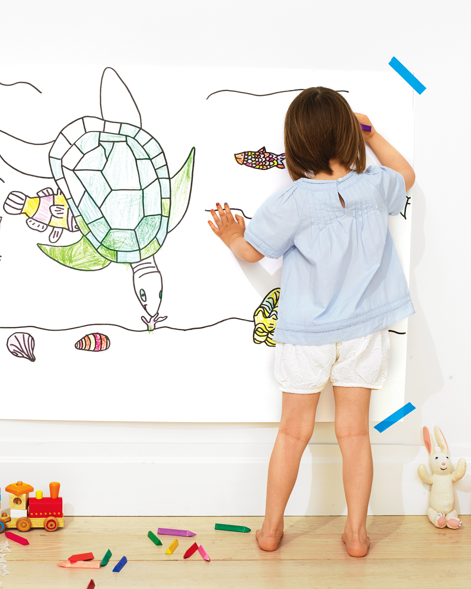 wall-sized coloring page