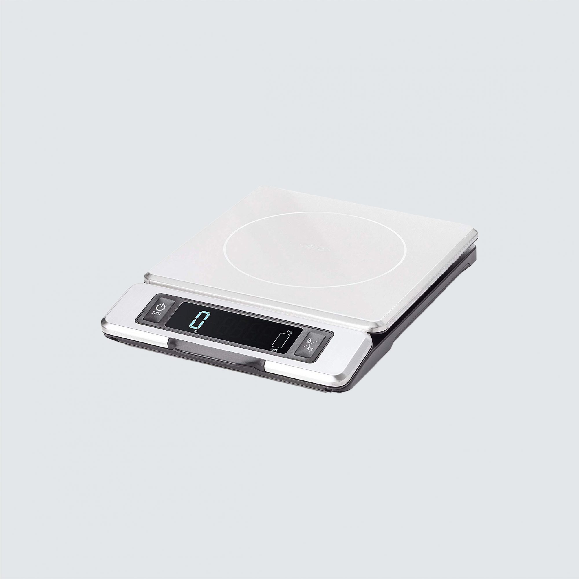 OXO Good Grips 11-Pound Stainless Steel Food Scale