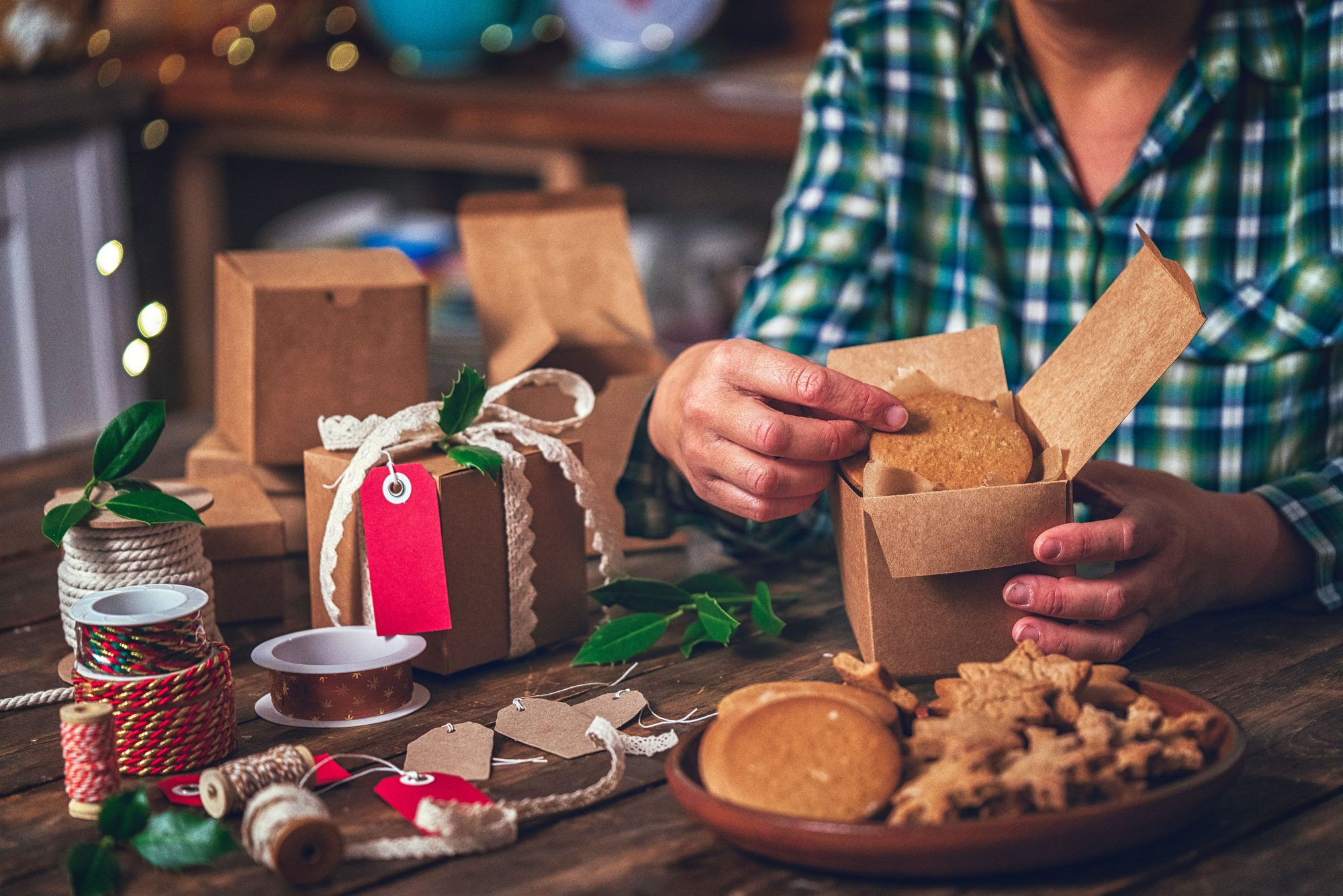 How to Ship Christmas Cookies So They'll Arrive Fresh and Crumble-Free, According to Postal Experts