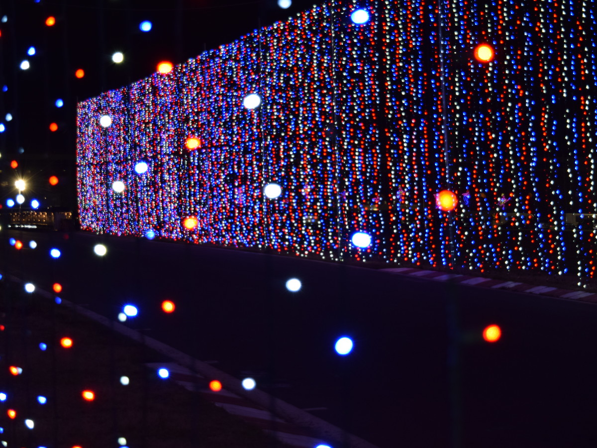One of the South's Best Christmas Lights Displays Is at Charlotte Motor Speedway