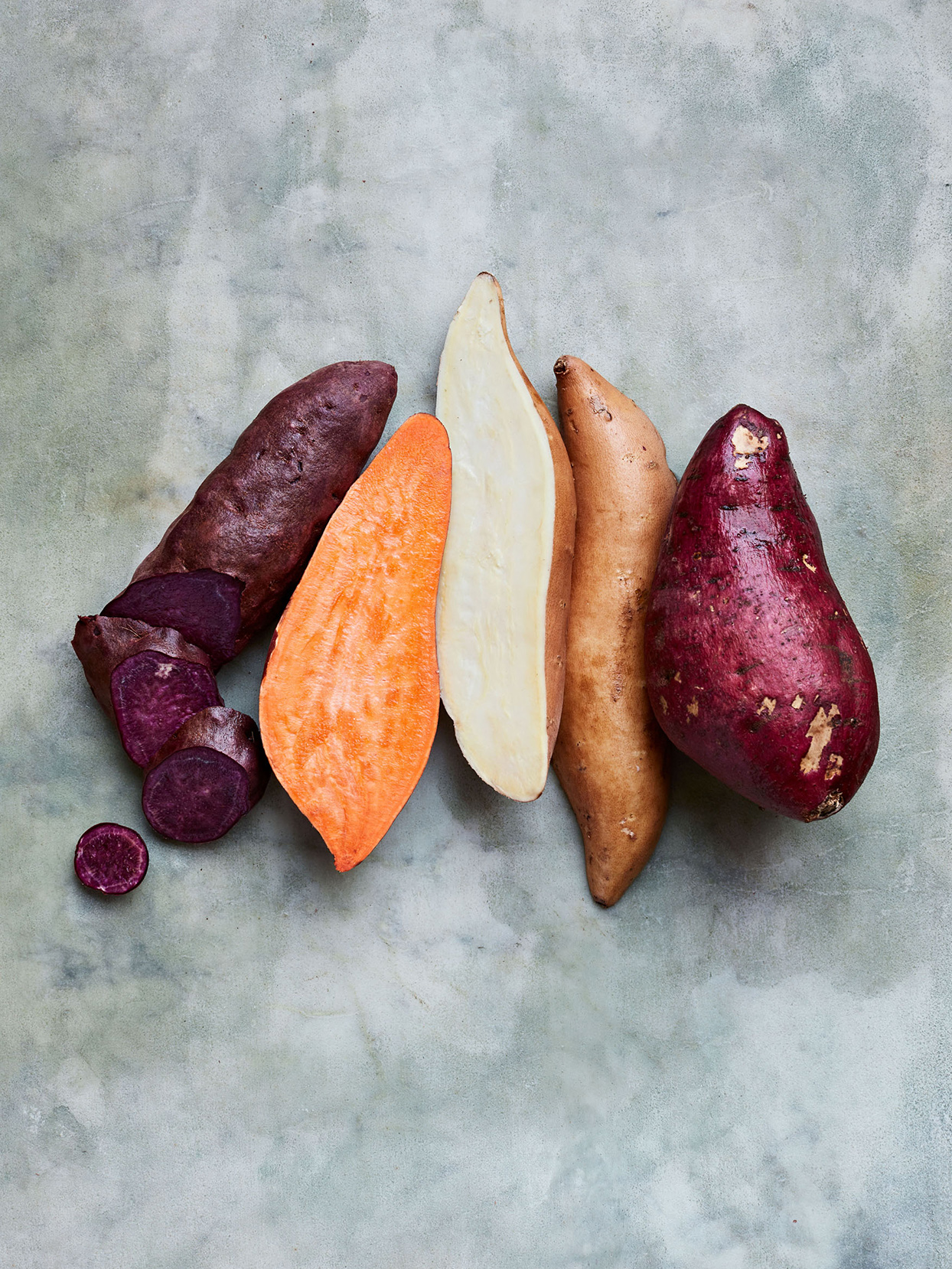A Rainbow of Sweet Potato Varieties That Everyone Should Try