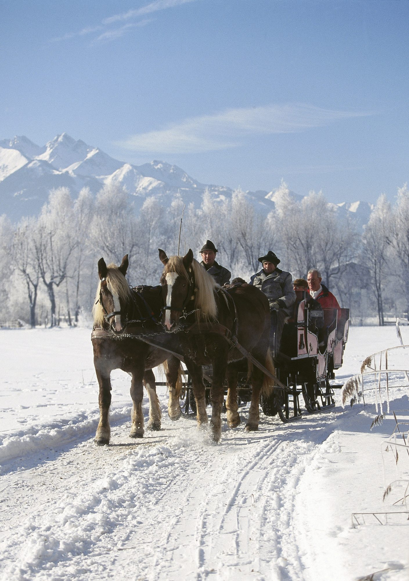 14 Scenic Sleigh Rides In The United States That Are Bound To Take Your Breath Away Martha Stewart