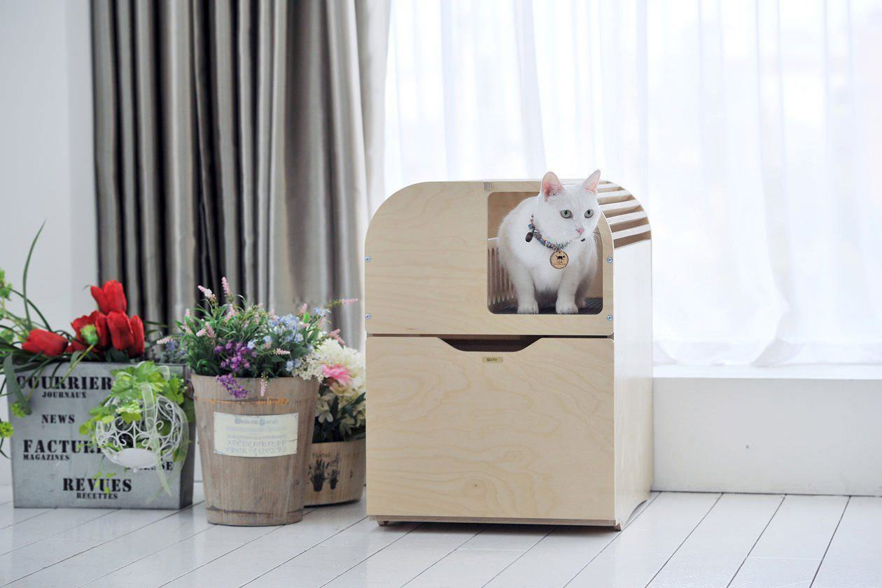 10 Modern Cat Litter Boxes That Hide In Plain Sight Martha Stewart