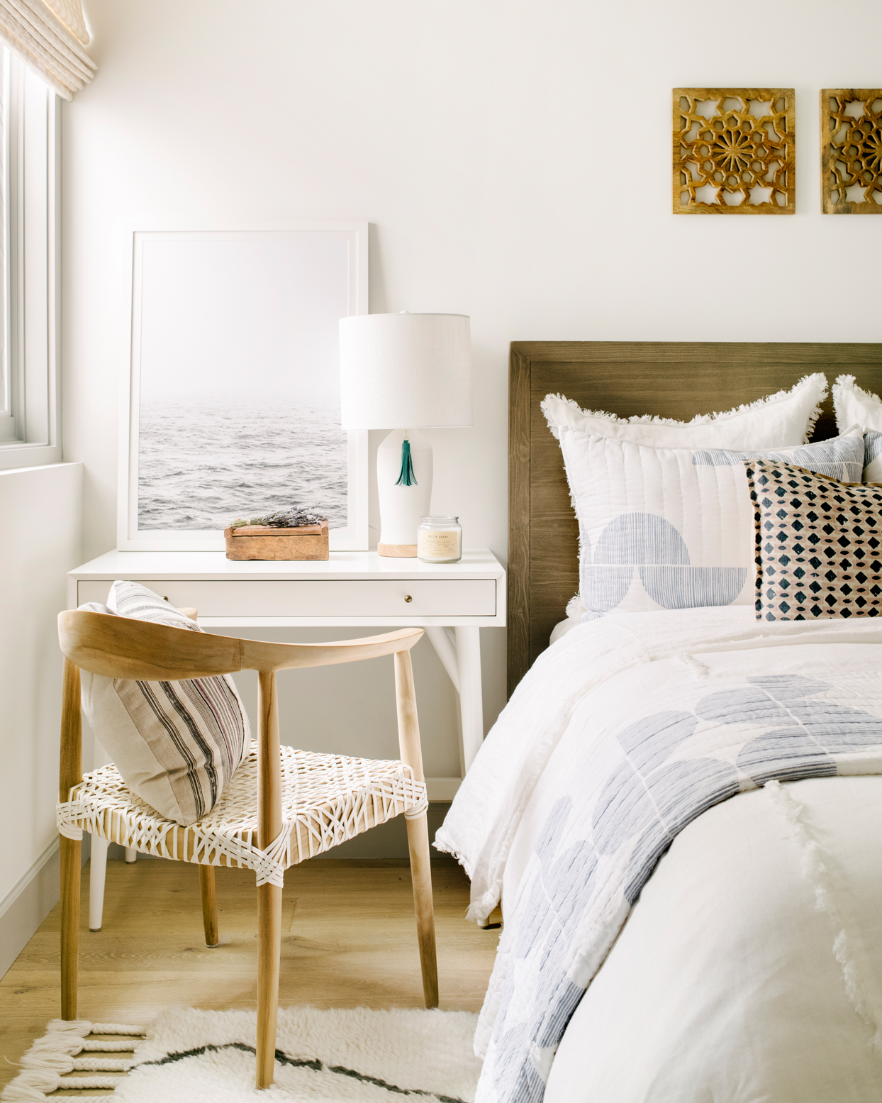 How To Organize A Small Bedroom Martha Stewart