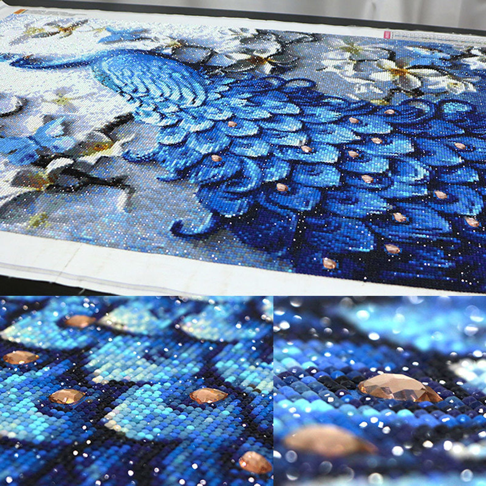 What Is Diamond Painting And How To Do It With Kits Martha Stewart