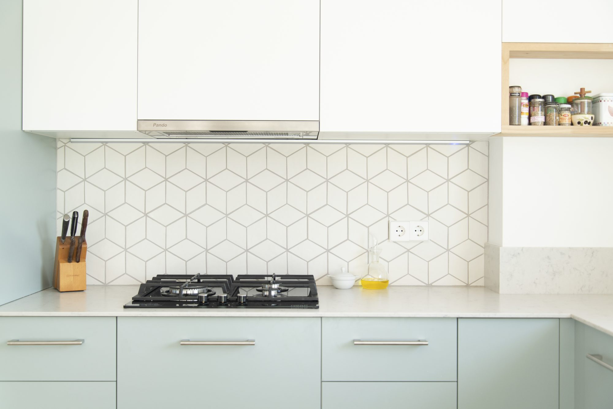 How To Use Stick On Tile At Home Martha Stewart