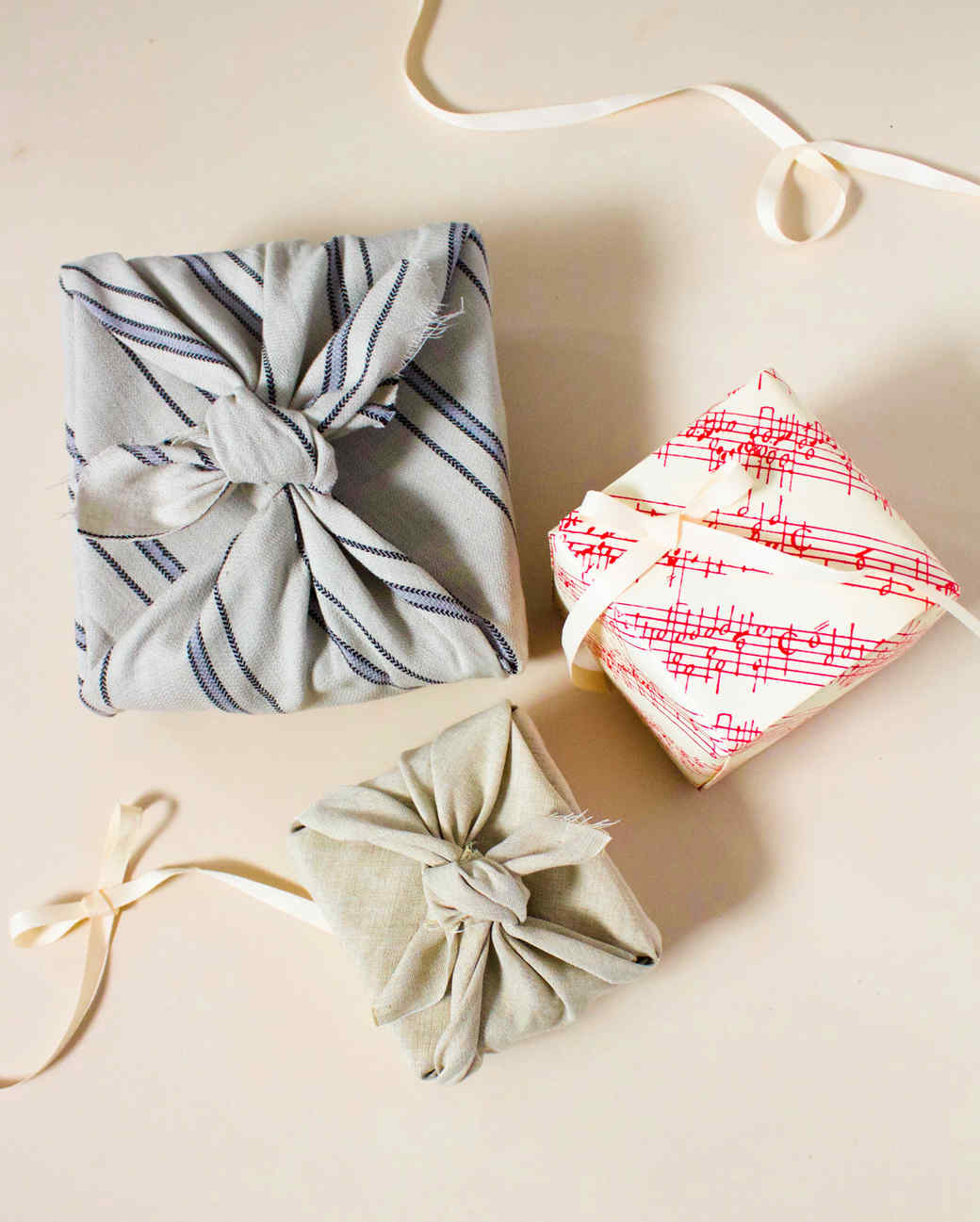 How To Wrap A Gift Without Tape Martha Stewart
