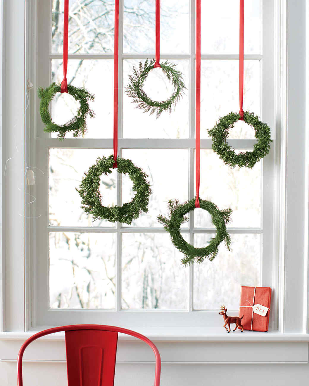 Easy Christmas Wreaths Martha Stewart