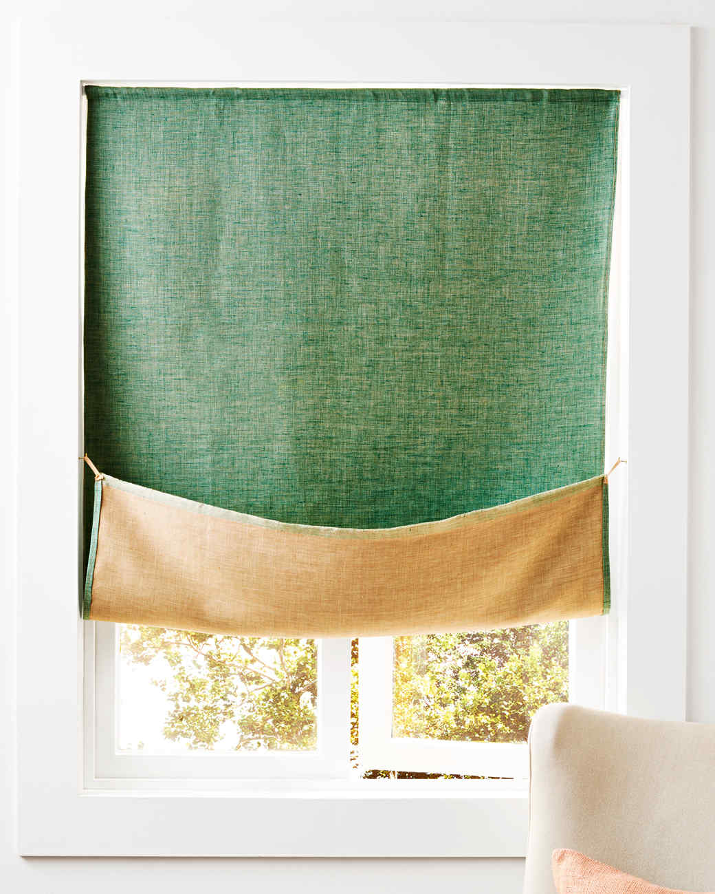 Reversible Linen Curtain Martha Stewart