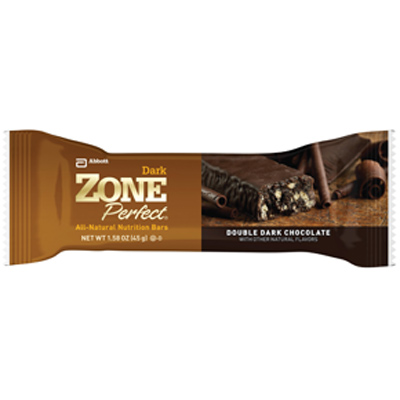 Worst Chocolate Nutrition Bar: Zone Perfect Double Dark