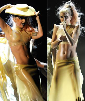 5 Exercises to Help You Get Lady Gaga's Killer Abs
