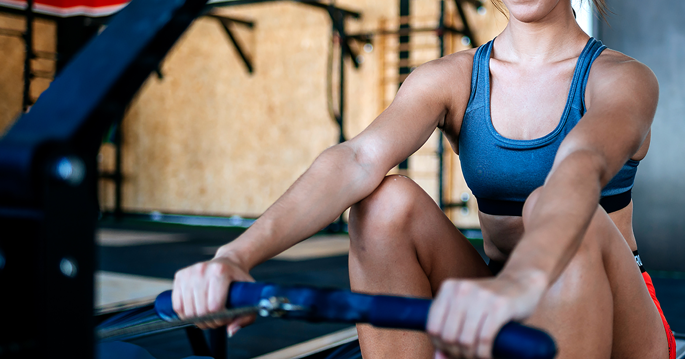 20-Minute Total Body Rowing Workout with Beginner Rowing
