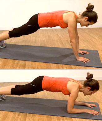 Sculpt Arms Faster With 4 Push-Up Variations