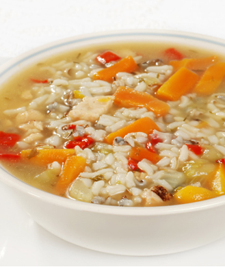 Image result for veggies, rice and soup