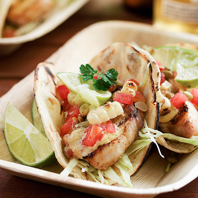 Grilled Fish Tacos