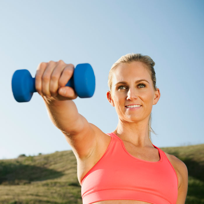 The Single Dumbbell Workout | Shape