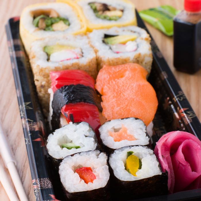 is sushi part of a clean diet