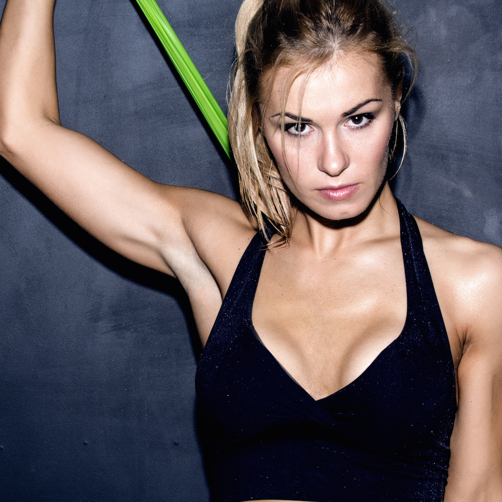 The Best Resistance Band Ab Workout Shape The following 30 women prove abs are made in the kitchen and in the gym with effective ab exercises for women. the best resistance band ab workout shape