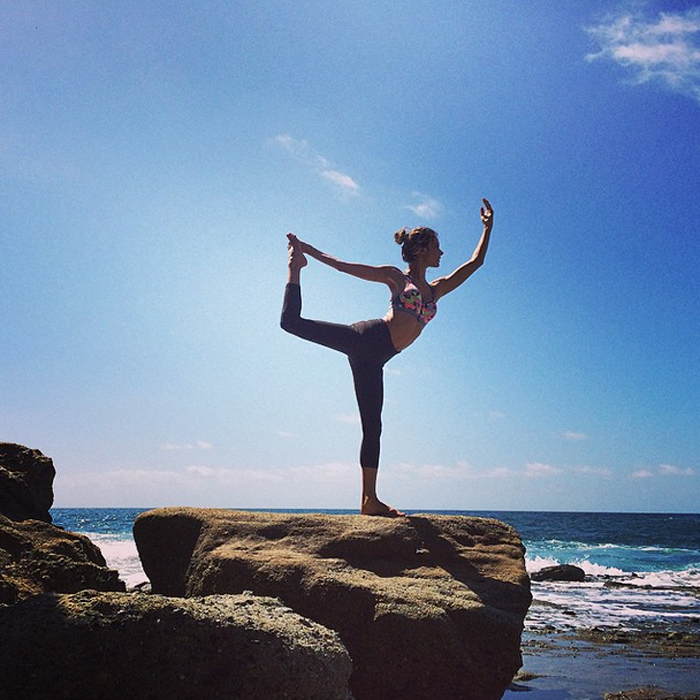 The Best Instagram Photos Of Celebrities In Yoga Poses Shape