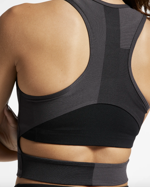 A little bit of mesh and some cute cut-outs can go a long way to help you keep your cool. With an open-back design and slightly cropped cut, this cute workout tank is functional and fashionable.