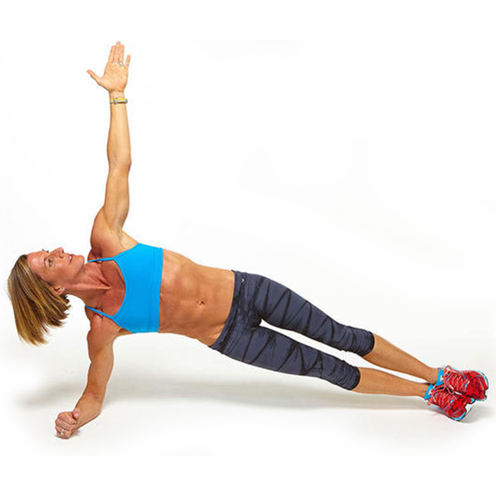 The Powered-Up Plank Workout That HIITs Your Core Hard