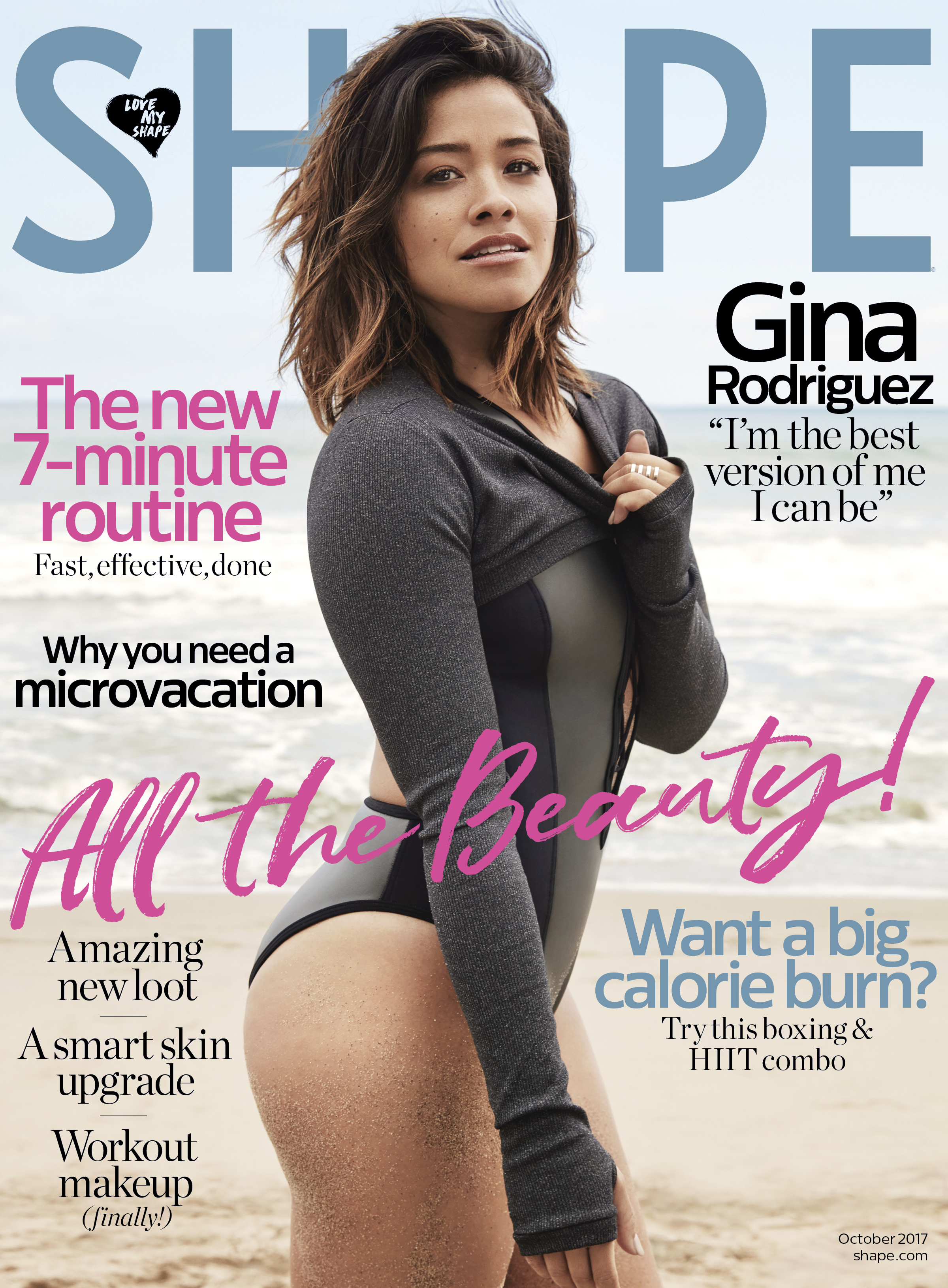 Gina Rodriguez Offers Workout and Healthy Eating Tips In