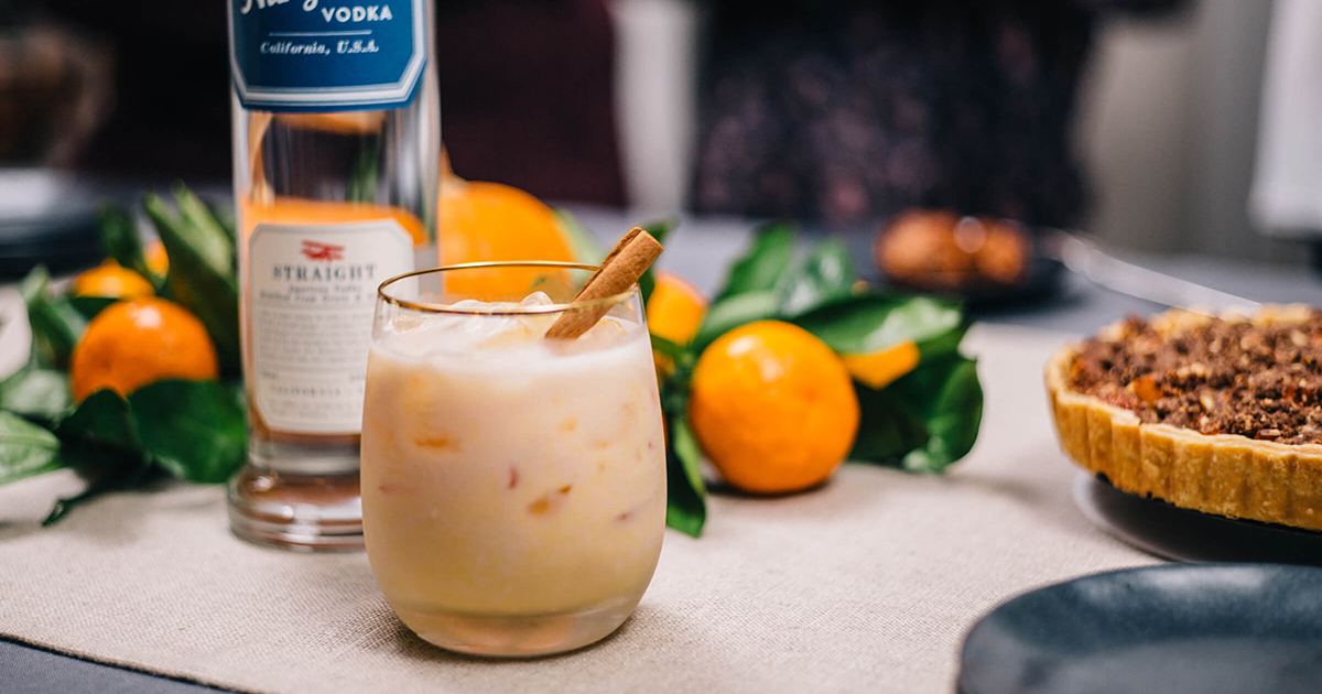 pumpkin spice cocktail