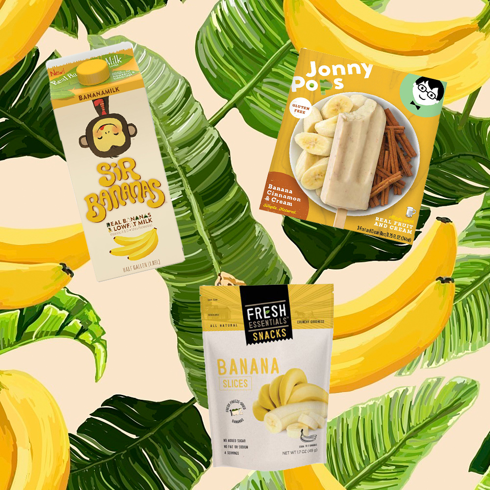 Five Photographs Of Banana In Seach Of >> Healthy Food Products Made With Bananas Shape Magazine