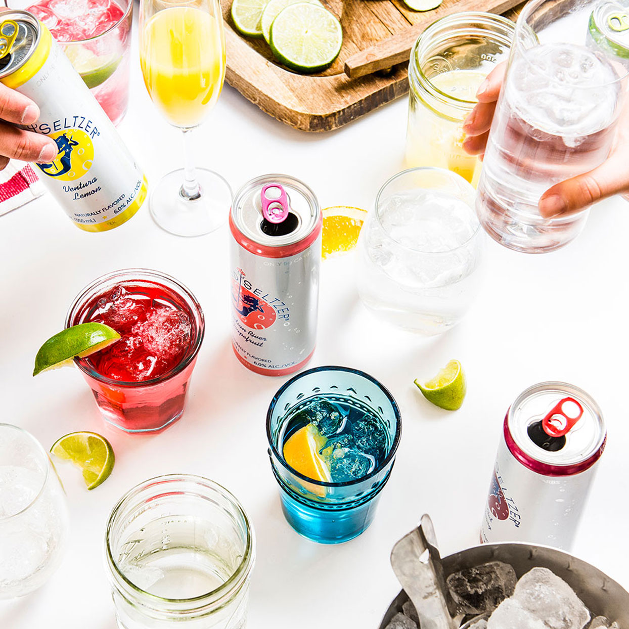 Healthy Canned Wines, Cocktails, and Spiked Seltzers to