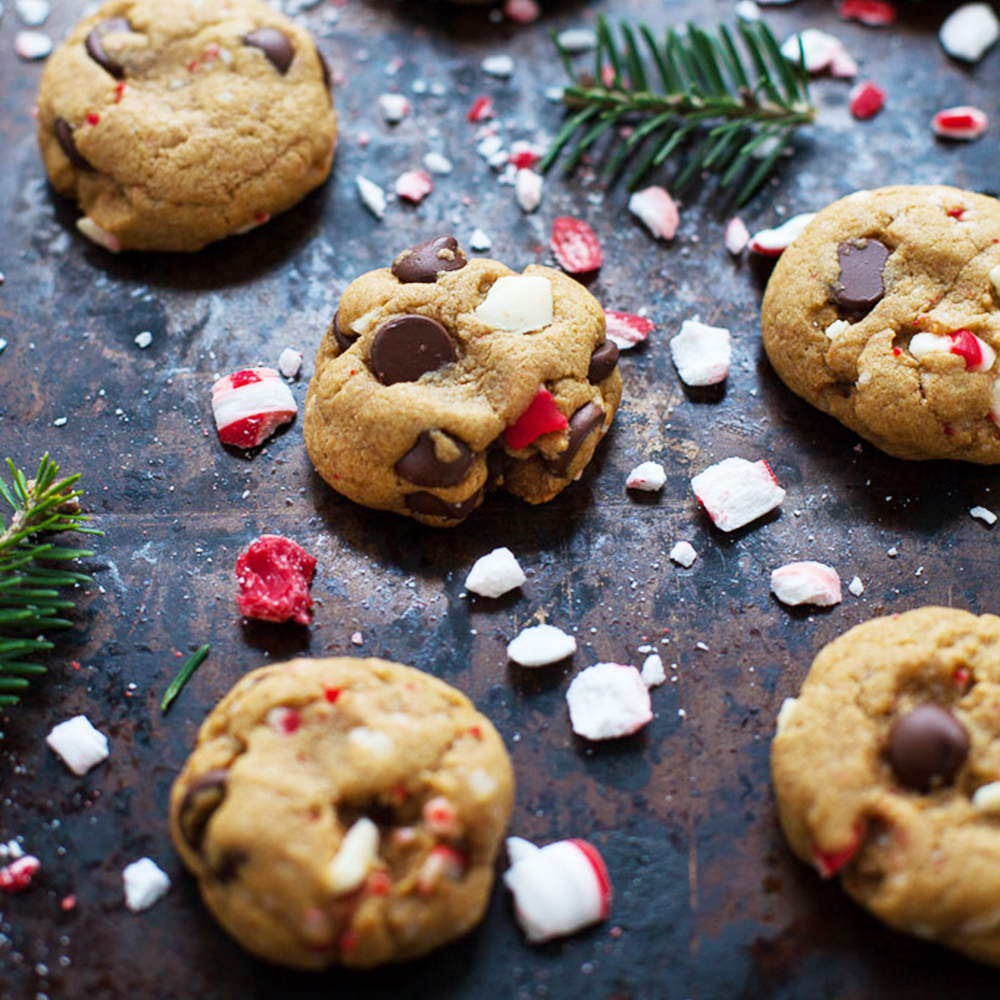Healthy Holiday Cookies For Santa Shape