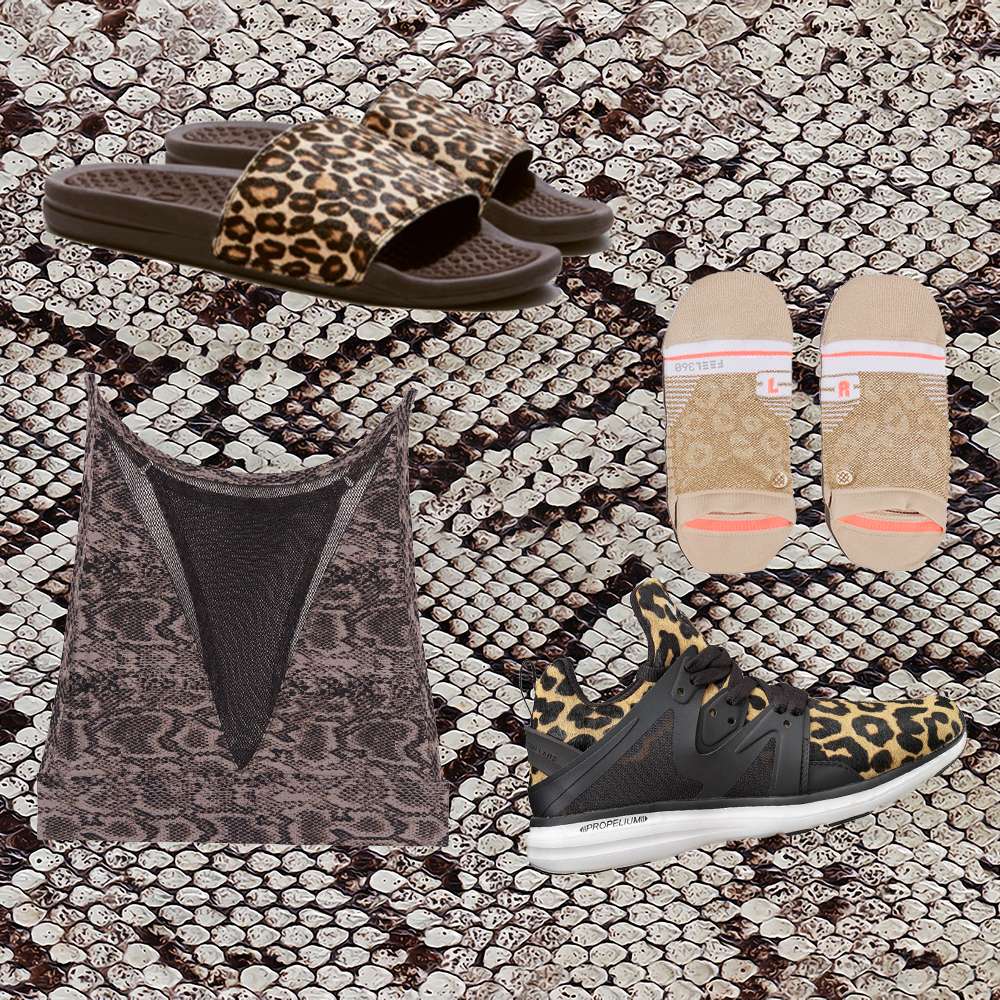 These Animal Print Workout Clothes Are Anything but Tame