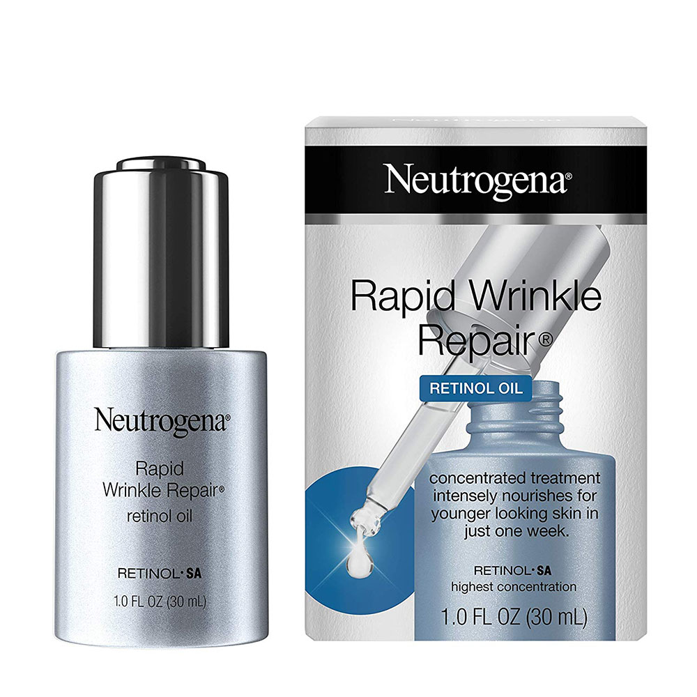 neutrogena retinol oil