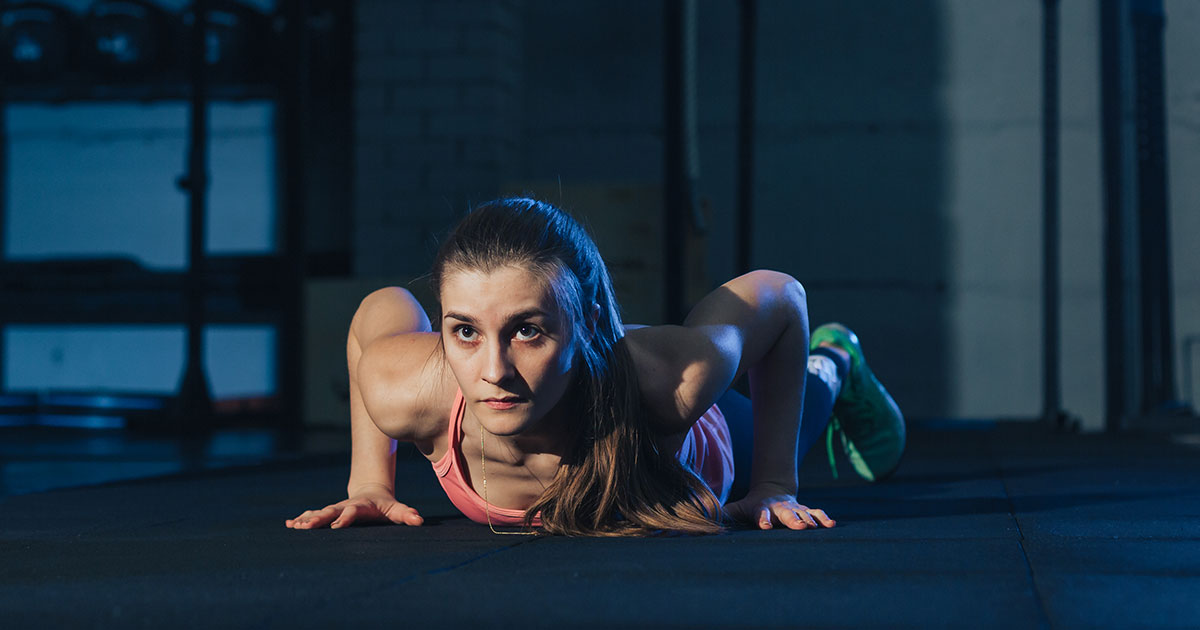 This Burn-So-Good Burpee Workout Proves This Move Is the Cardio King